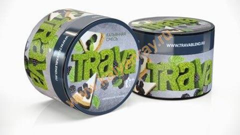 Кальянная смесь Trava - Ежевичный чизкейк
