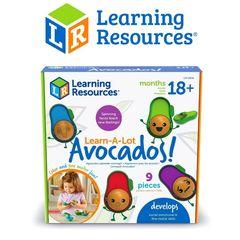 LER6806 Развивающая Эмоции с авокадо Learning Resources