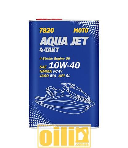 Mannol 7820 AQUA JET 4-TAKT API SL 1л