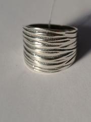 Гейша 2 ( кольцо из серебра)