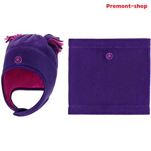 Premont Шапка и шарф-снуд WP81903 Purple