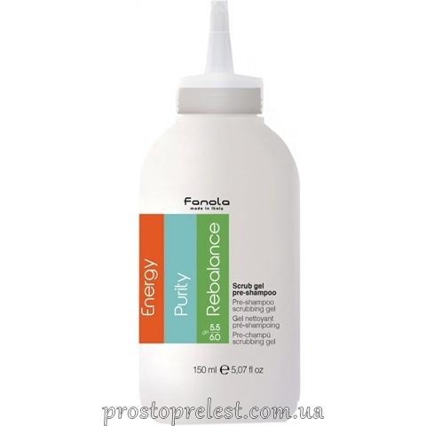 Fanola Pre-Shampoo Scrubbing Gel - Пілінг для шкіри голови (пре-шампунь)