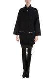 Пальто из шерсти и мохера D'EXTERIOR
