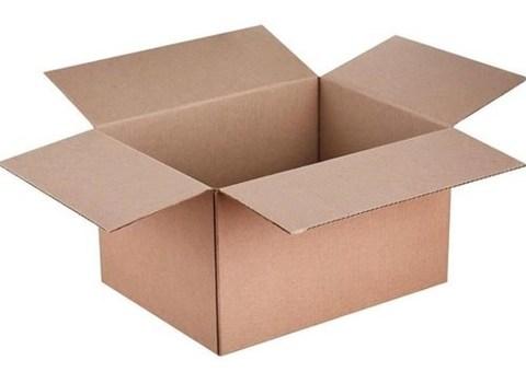 Коробка 370х195х320 (гофрокороб бурый)