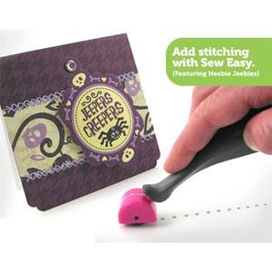 Инструмент для перфорации отверстий под вышивку на бумаге   Sew Easy Stitch Piercer W/Needle Straight Head