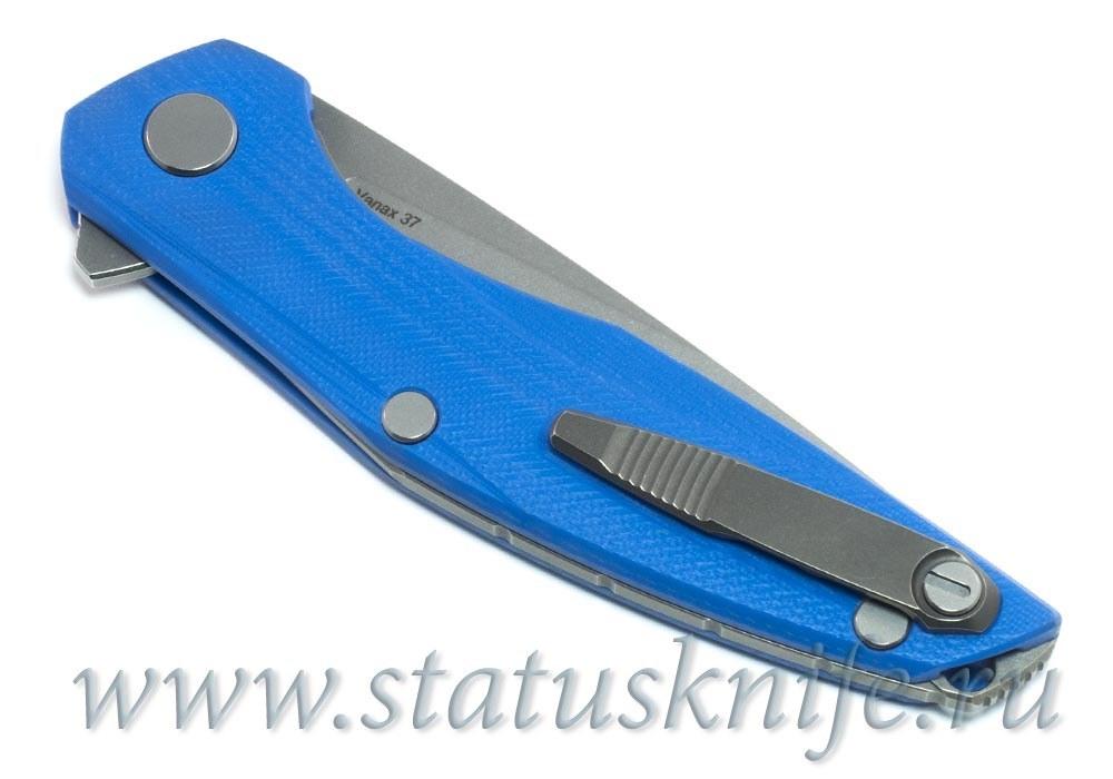 Нож Широгоров 111 Vanax37 G10 blue 3D MRBS - фотография
