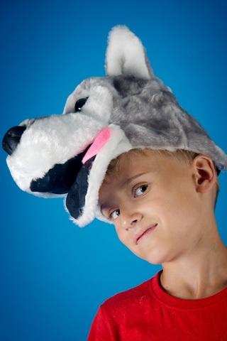 Карнавальная шапочка Волк 2