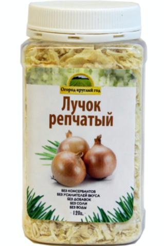Лук репчатый сушёный 'Здоровая еда' в ПЭТ-банке, 120 г