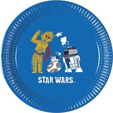 Тарелки малые Звёздные войны СилаТарелки малые Звёздные войны Сила