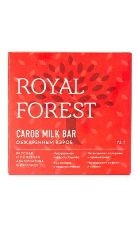 Шоколад Кэроб Обжарен Royal Forest 75г б/глют