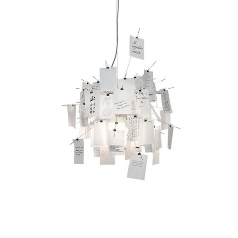 Подвесной светильник копия Zettel'z by Ingo Maurer by Ingo Maurer (белый)