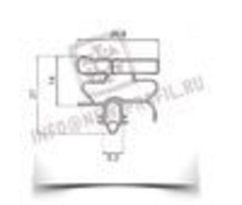 Уплотнитель для холодильника  Electrolux ERB 9192 х.к 1170*570 мм (010)