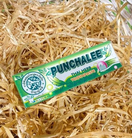 Растительная зубная паста Punchalee Herbal 25г