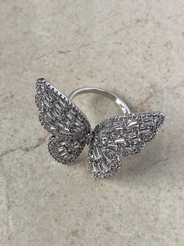 Кольцо Ла Фарвалла, серебряный цвет