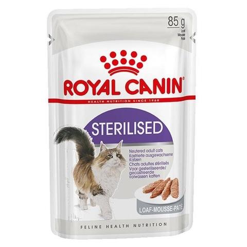 Корм для стерилизованных кошек Royal Canin для профилактики МКБ (паштет) 85 гр