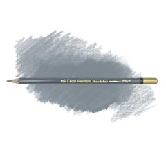 Карандаш художественный акварельный MONDELUZ, цвет 72 сланцевый