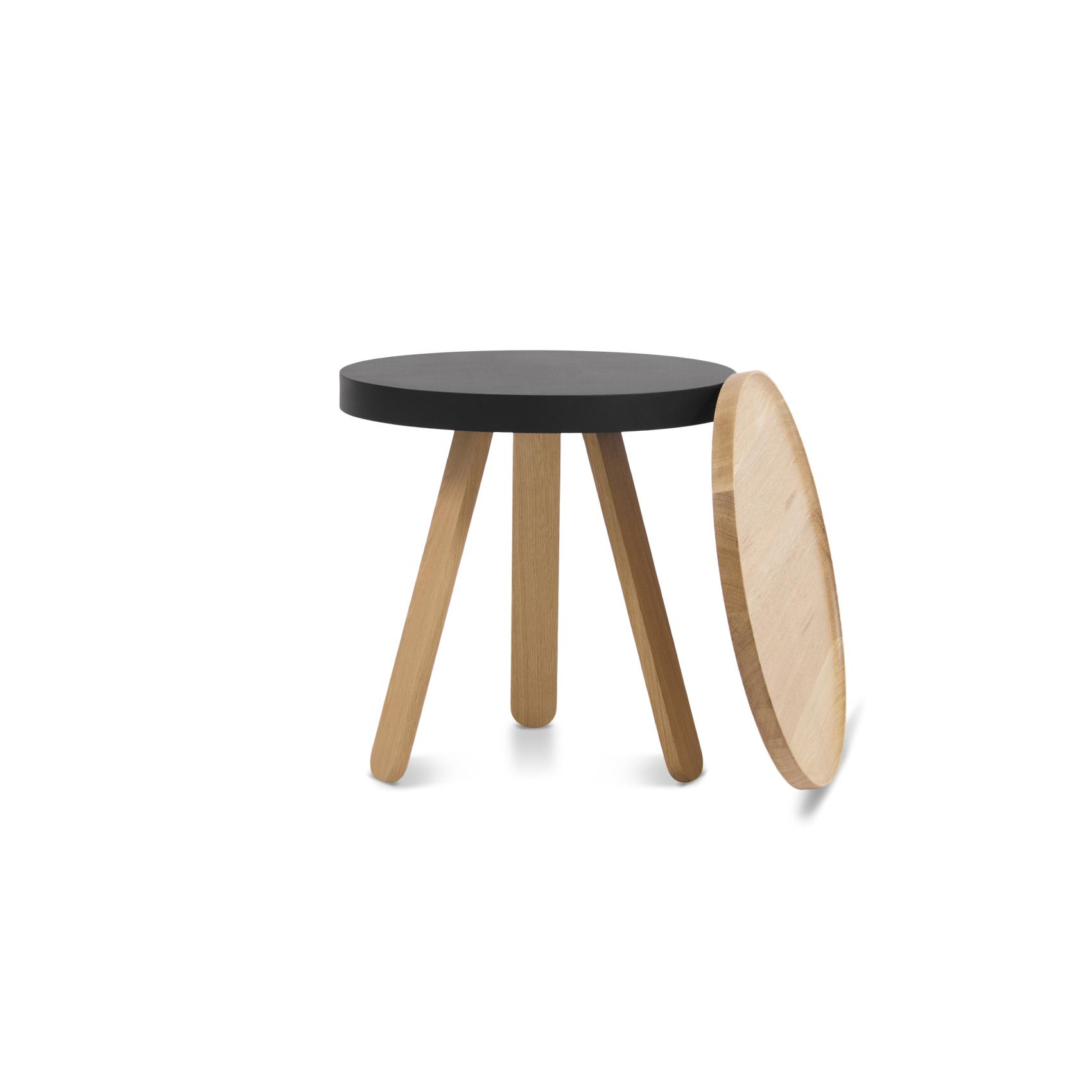 Кофейный столик BATEA S дуб - вид 4