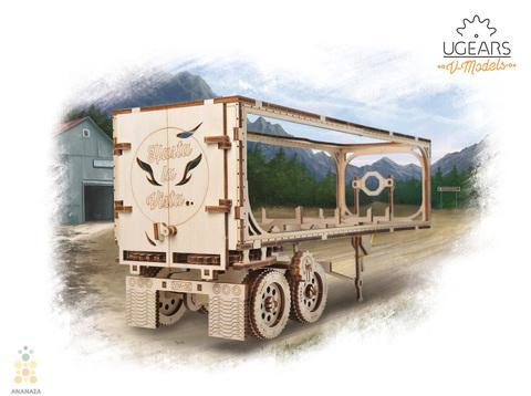 Прицеп для Тягача Heavy Boy VM-03 (Ugears)