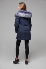 Куртка утепленная с меховым капюшоном интернет магазин