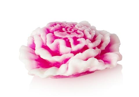 Мыльное ассорти/цветок3D: ГВОЗДИКА, 65 гр/шт