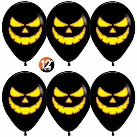 Воздушные шары Тыквы черные