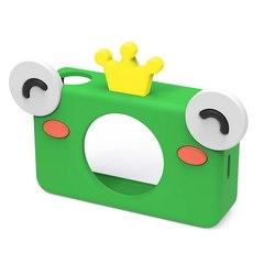 Фотоаппарат детский SmileZoom 24 Мп с чехлом с ушками / Лягушонок чехол