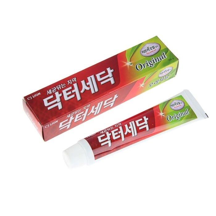Зубная паста Dr. Sedoc Original экстрактом масла чайного дерева ,100 г