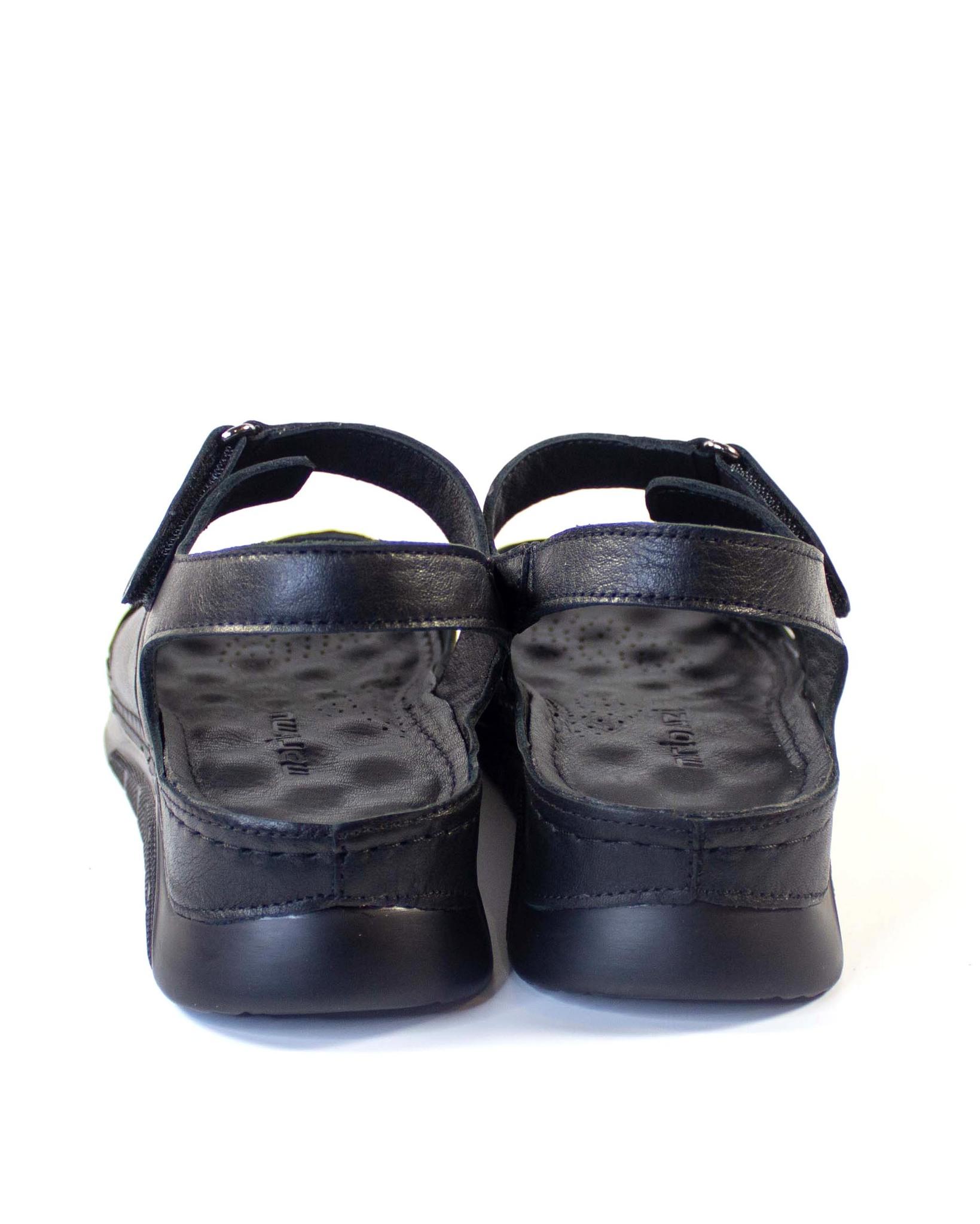 черные сандалии Mario Muzi