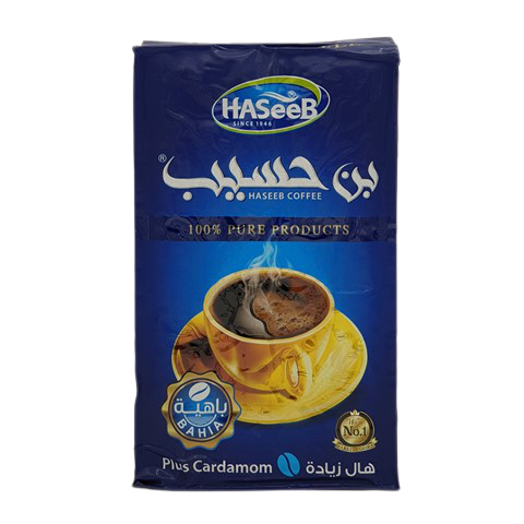 Арабский кофе с кардамоном plus Cardamon Хасиб HASEEB, 500 гр