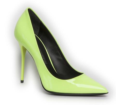 Туфли Gianmarco Lorenzi 3024 Лимонный