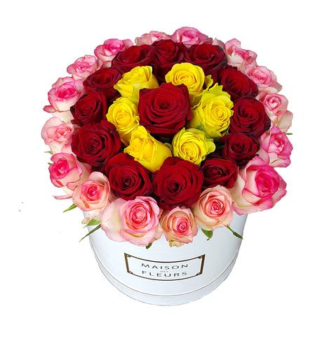 Коробка Maison Des Fleurs микс 15-7