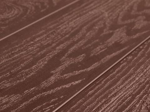 Террасная доска SW Padus (T) - тангенциальный распил. Цвет терракот.