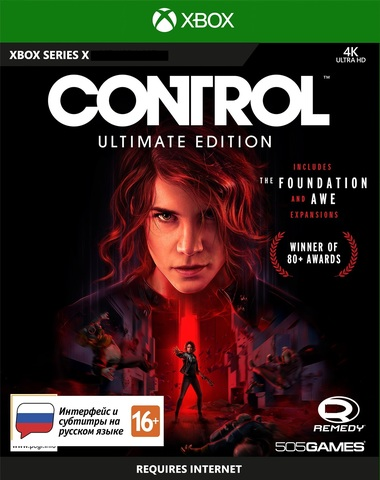Control Ultimate Edition (Xbox Series X, русская версия)
