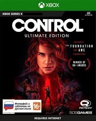 Control Ultimate Edition (Xbox Series X, русская версия)