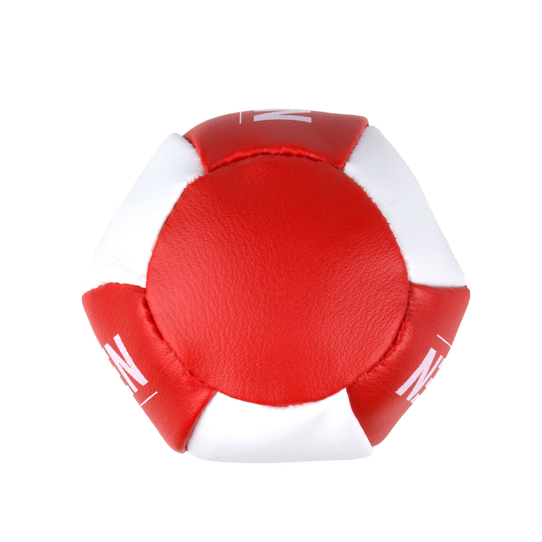 Брелок мини-груша Dozen Light красно-белый вид снизу