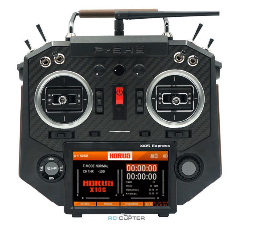 Аппаратура управления FrSky Horus X10S Express Amber 2.4 ГГц 24 канала ACCESS + кейс EVA