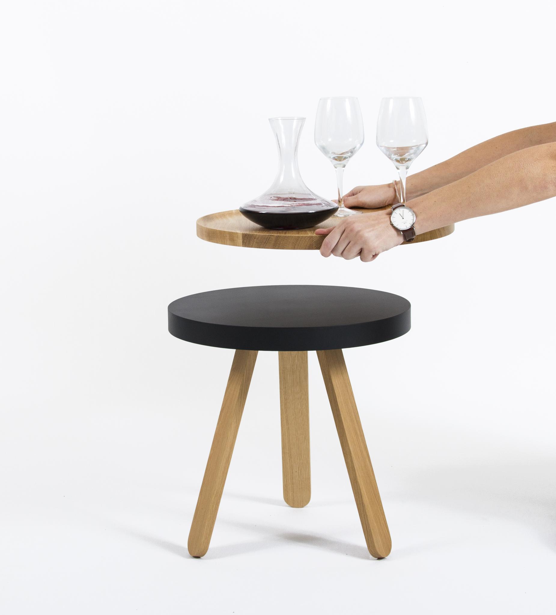Кофейный столик BATEA S дуб - вид 2