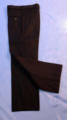 Классические утепленные брюки для мальчика (черные)