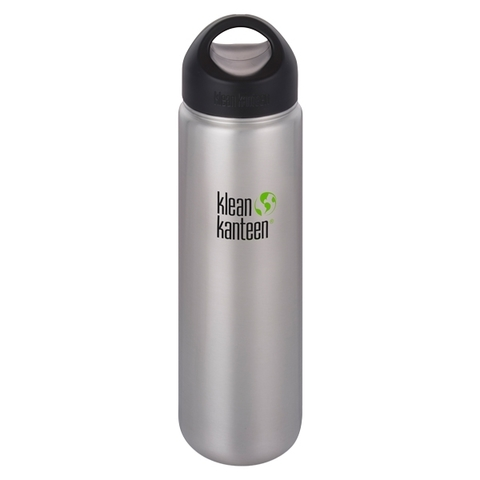 Klean Kanteen Trinkflasche Wide 800 ml brushed stainless