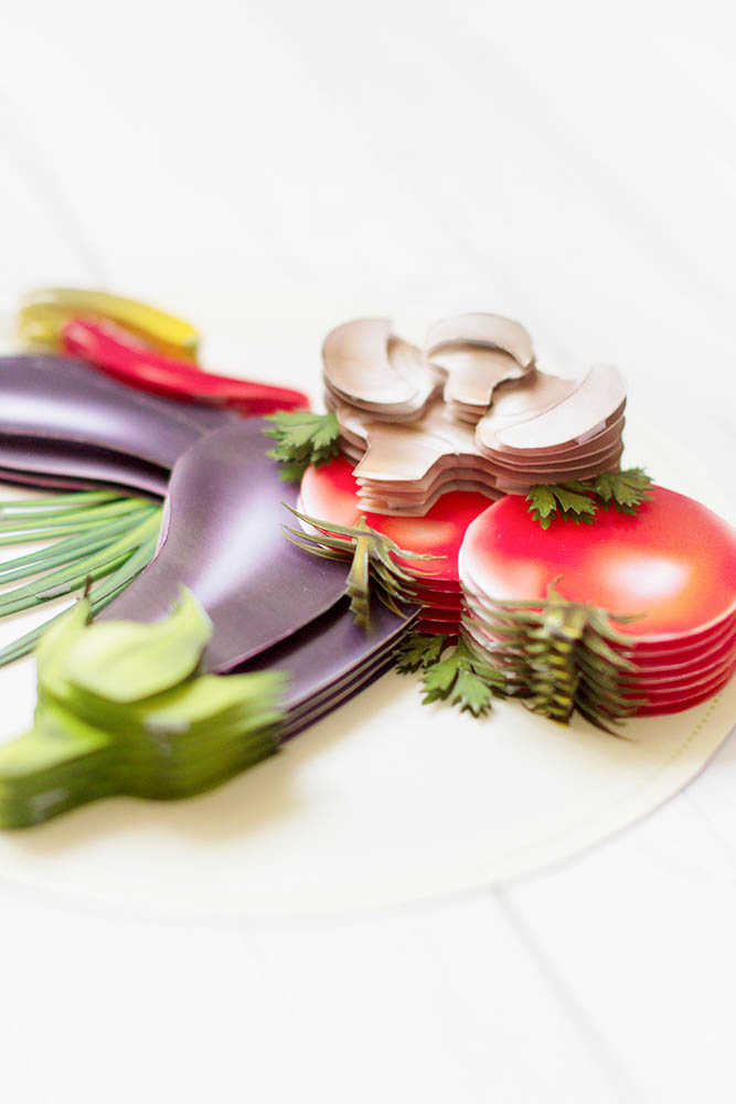 Натюрморт с овощами - готовая работа, детали сюжета.