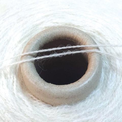 Бэби альпака с мериносом DULCOS2 2/13 белый молочный