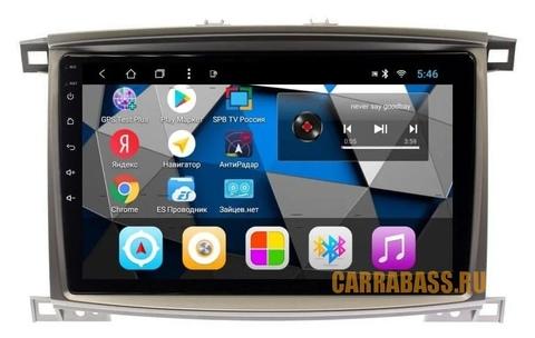 Штатная магнитола  для Toyota LC 100/Lexus LX470 (2003-2007) Android 8.1 2/32GB модель CB 3185T8