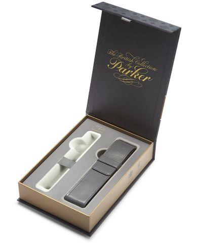 Подарочный набор с чехлом:  Перьевая и Шариковая ручки Parker Urban Vibrant Blue CT123