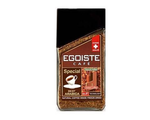 Кофе молотый в растворимом Egoiste Special, 100 г стеклянная банка