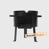 Печь под казан 50 литров сталь 2 мм