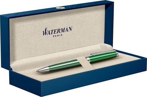 Шариковая ручка Waterman Hemisphere French riviera CHATEAU VERT в подарочной коробке123