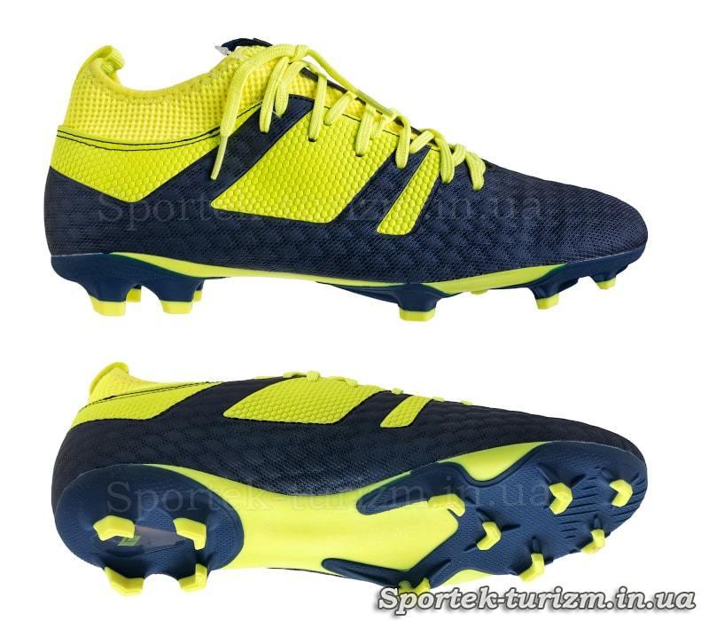 Бутсы футбольные (копы) с носком DIFENO 181239 размер 40-45