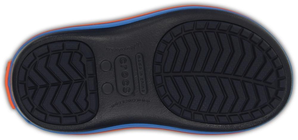 Детские сапожки Crocs Kids' Crocband LodgePoint Boot Ocean/Navy фото 203509