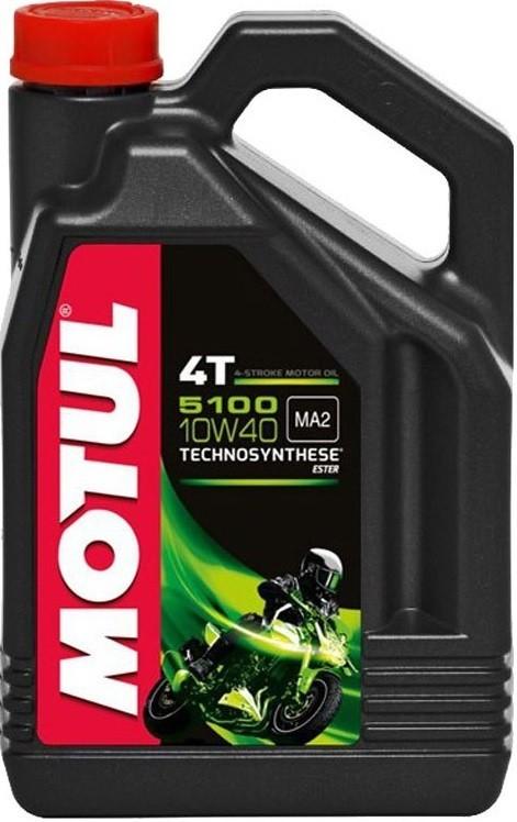 Motul 5100 10W40 4T Полусинтетическое моторное масло для мотоциклов