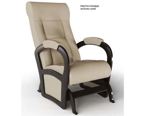 Кресло-глайдер Мартин экокожа